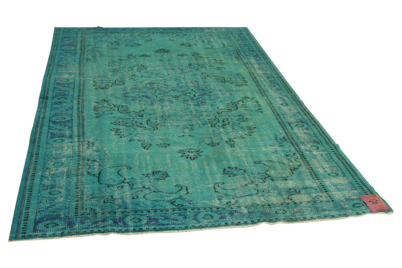 Blauw vloerkleed 280cm x 185cm nr12432