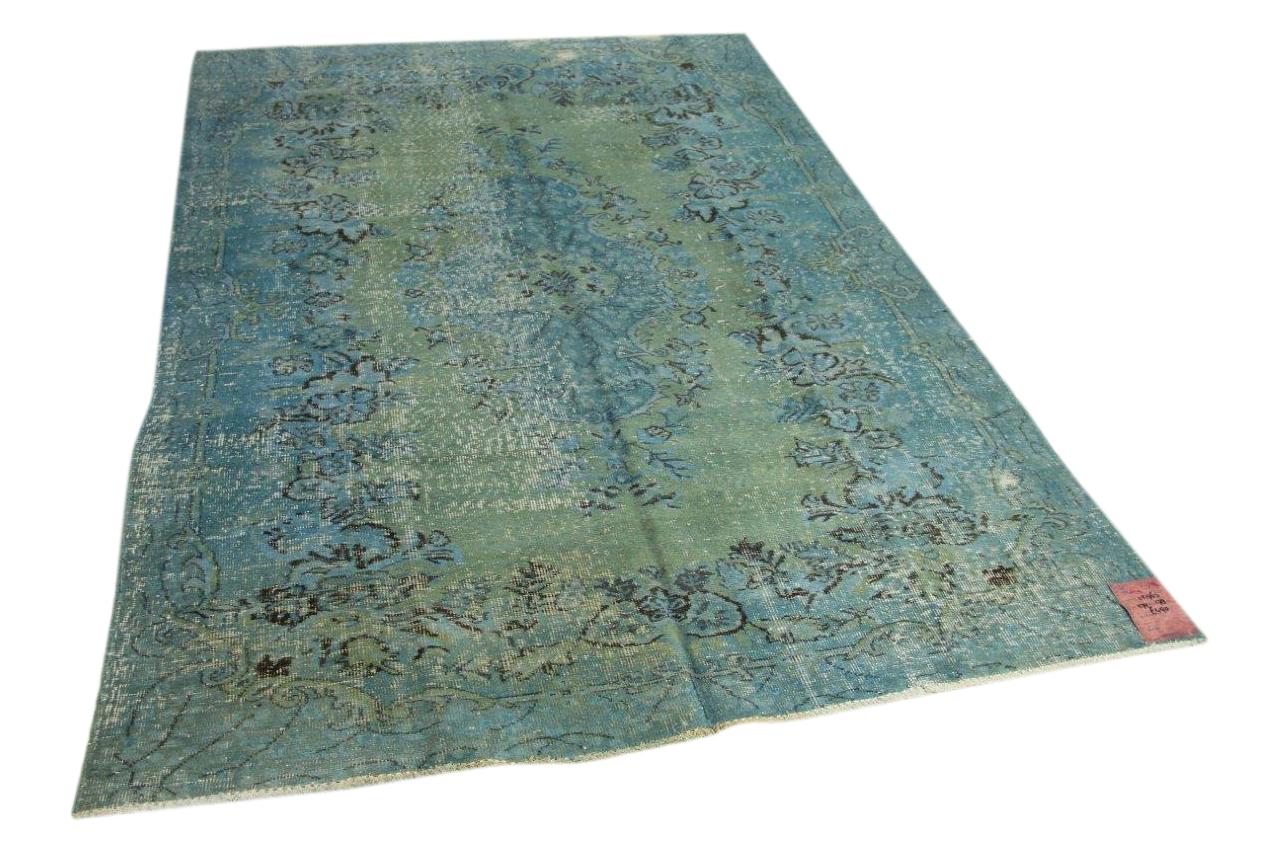 Blauw vloerkleed 279cm x 178cm nr12963