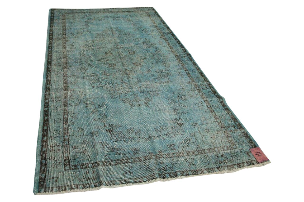 Blauw vloerkleed 306cm x 174cm nr12979