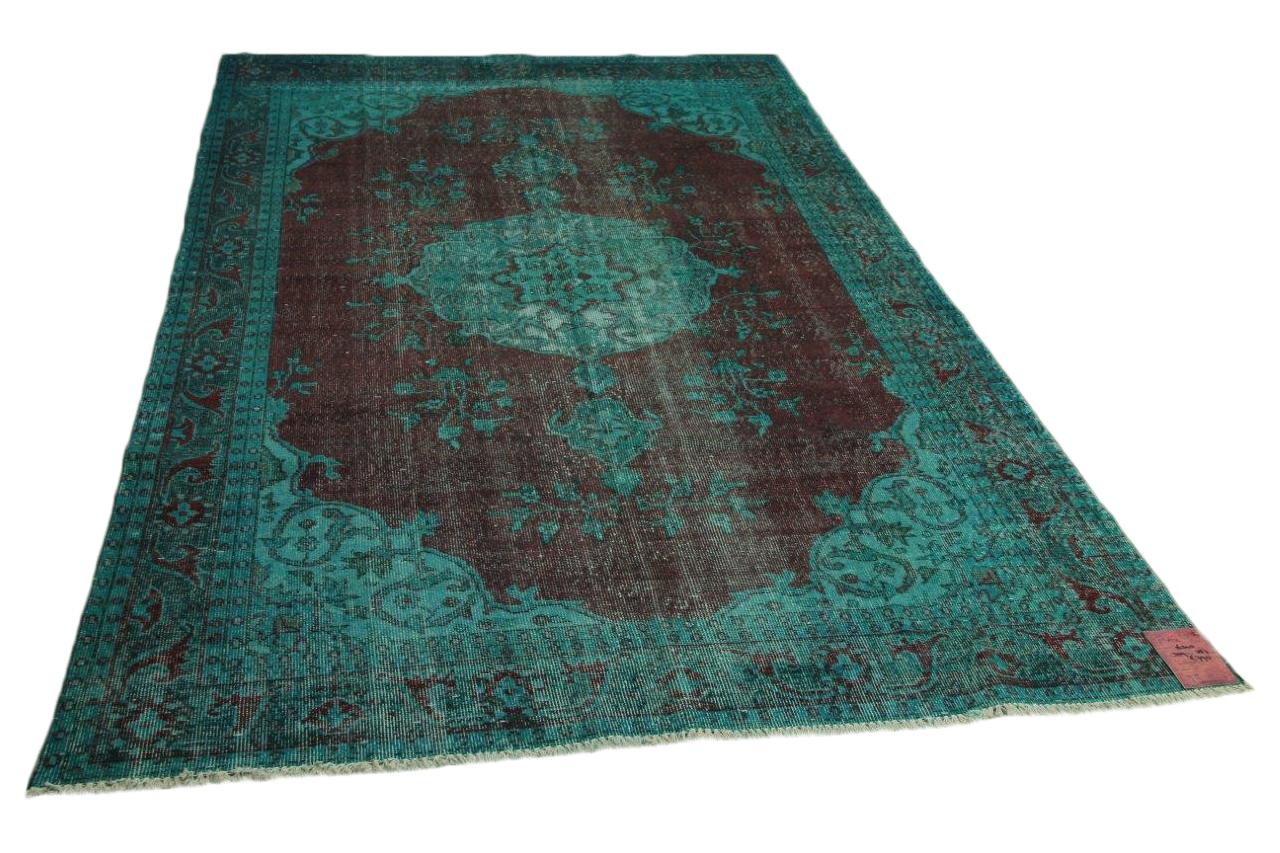 Blauw vloerkleed 314cm x 187cm nr16340