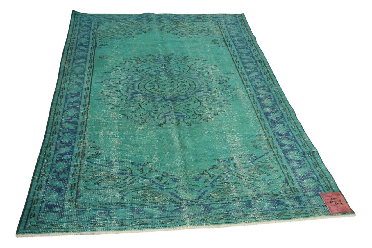 Blauw vloerkleed 230cm x 145cm nr16810