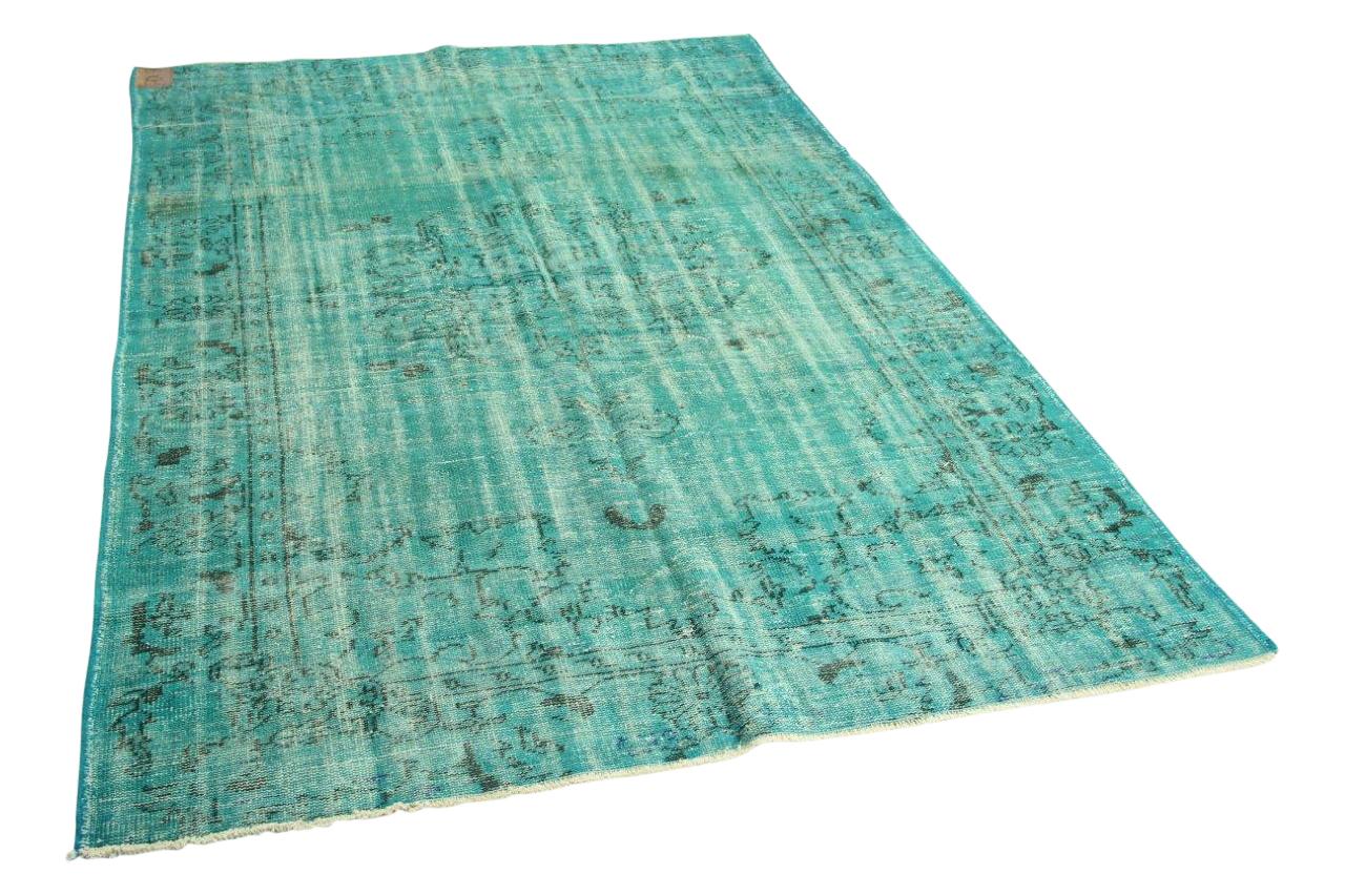 Blauw vloerkleed 265cm x 180cm nr3548