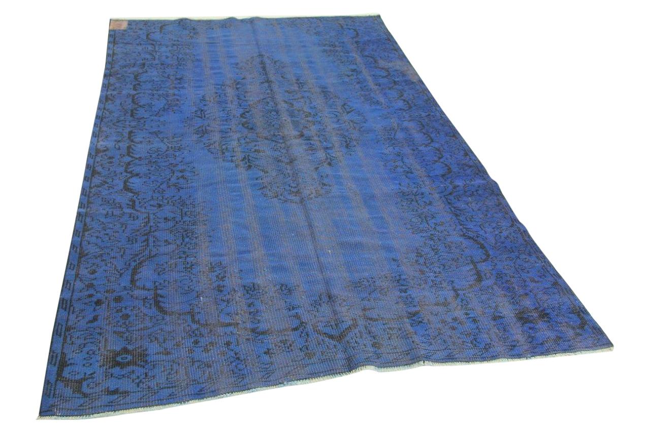 Blauw vloerkleed 285cm x 175cm nr3554