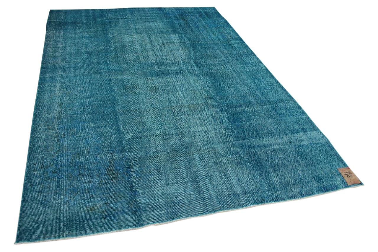 blauw vloerkleed 32650