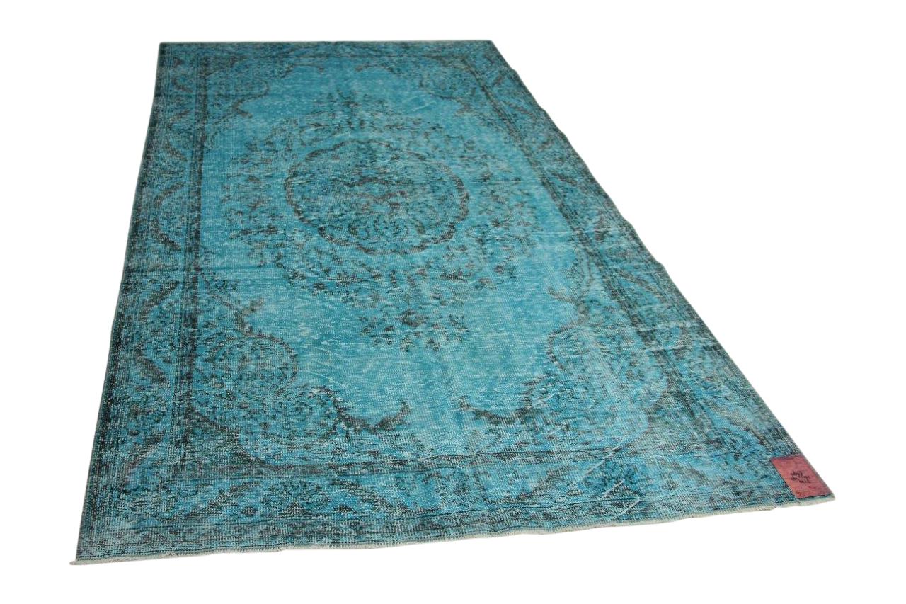Blauw vloerkleed 316cm x 193cm