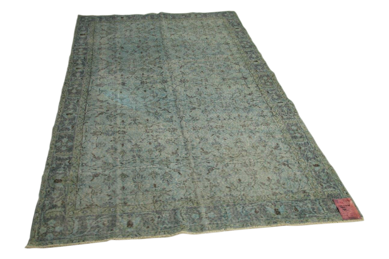 Blauw vloerkleed 268cm x 165cm nr3877