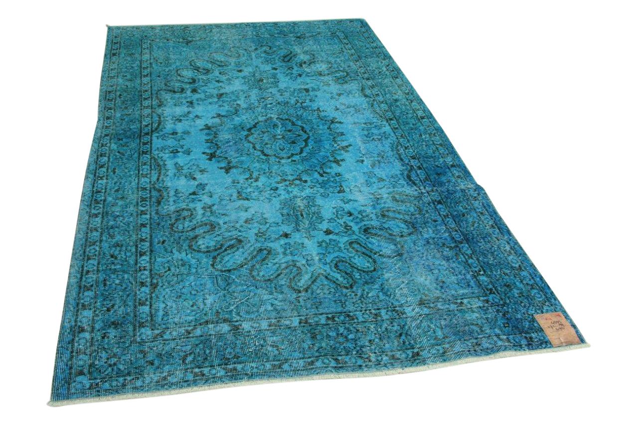 Blauw vloerkleed 271cm x 159cm nr4593