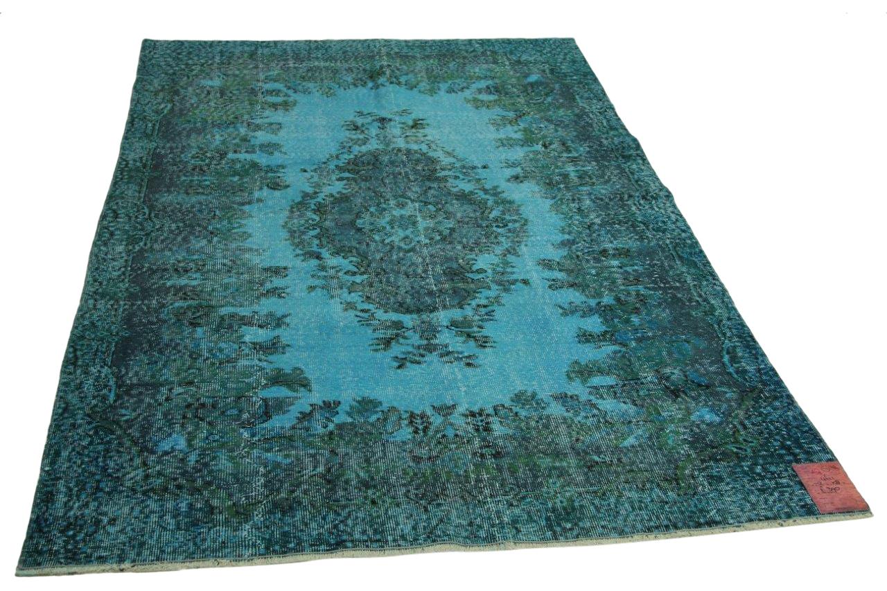Blauw vloerkleed 252cm x 158cm nr4611