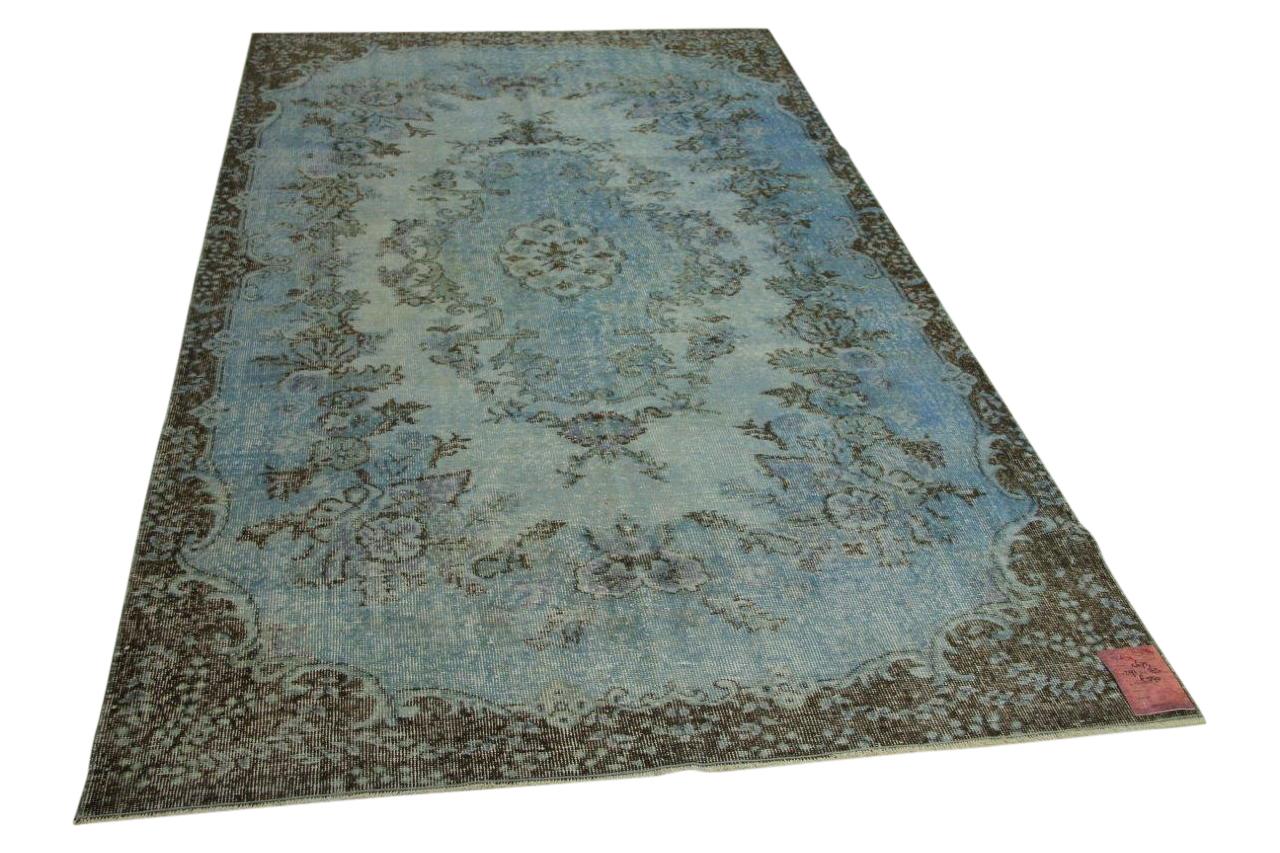 Blauw vloerkleed 291cm x 163cm nr4675