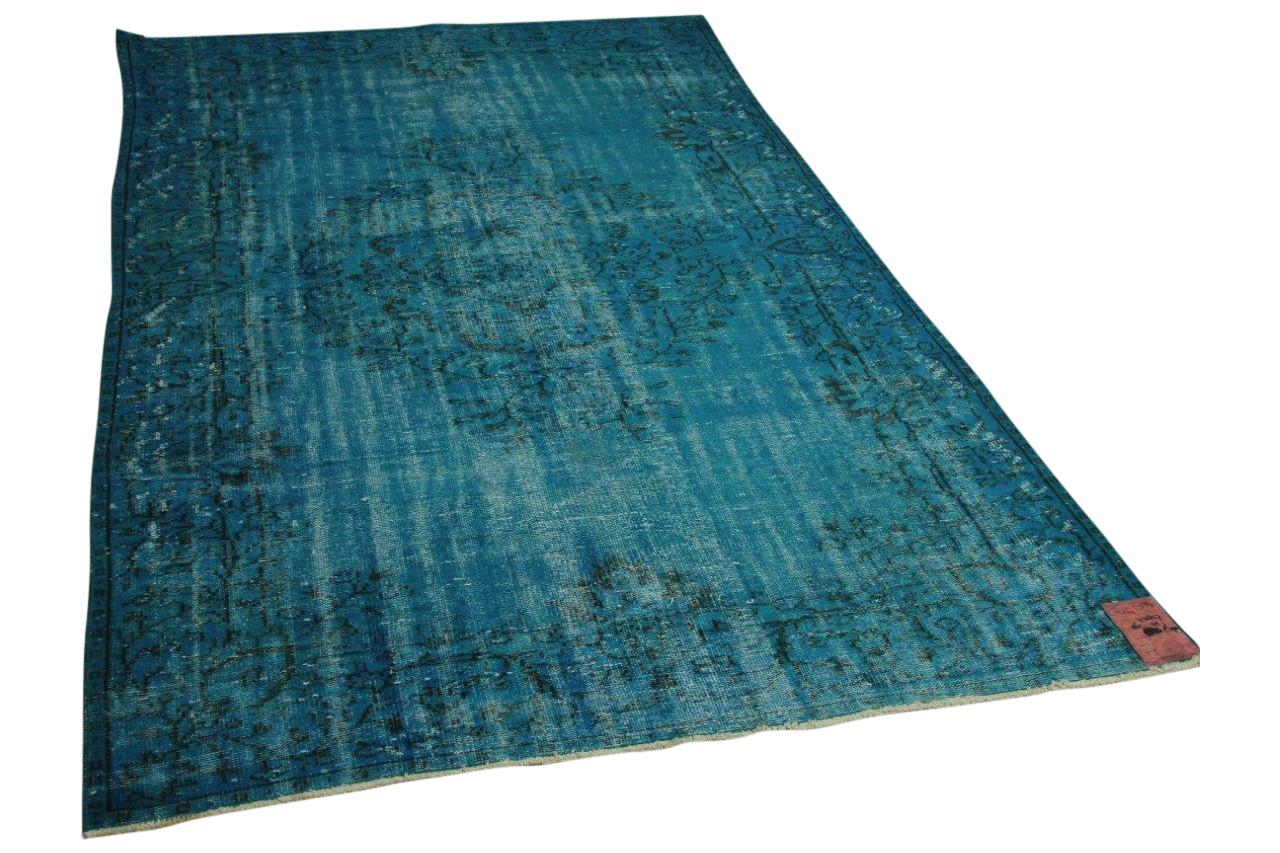 Blauw vloerkleed 265cm x 175cm nr73847