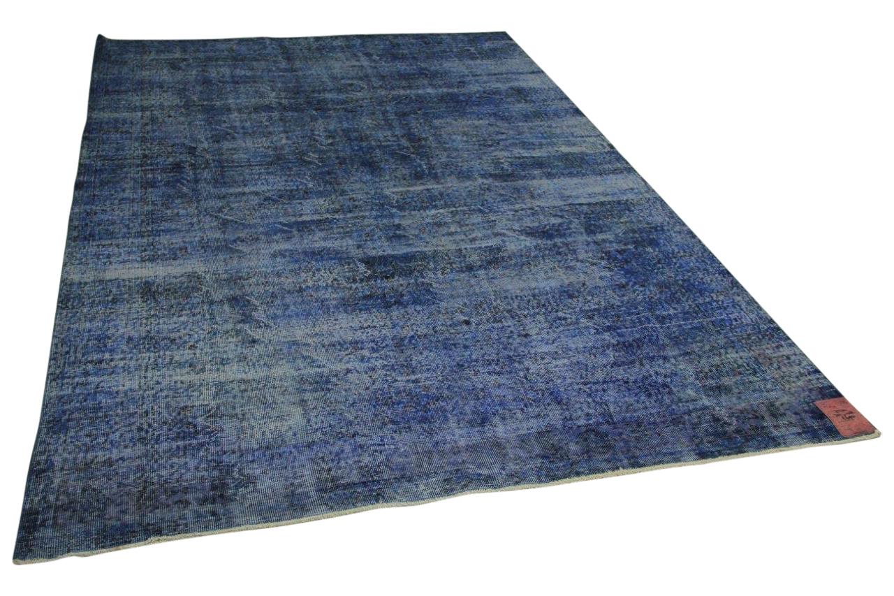 Blauw vloerkleed 302cm x 208cm nr75220