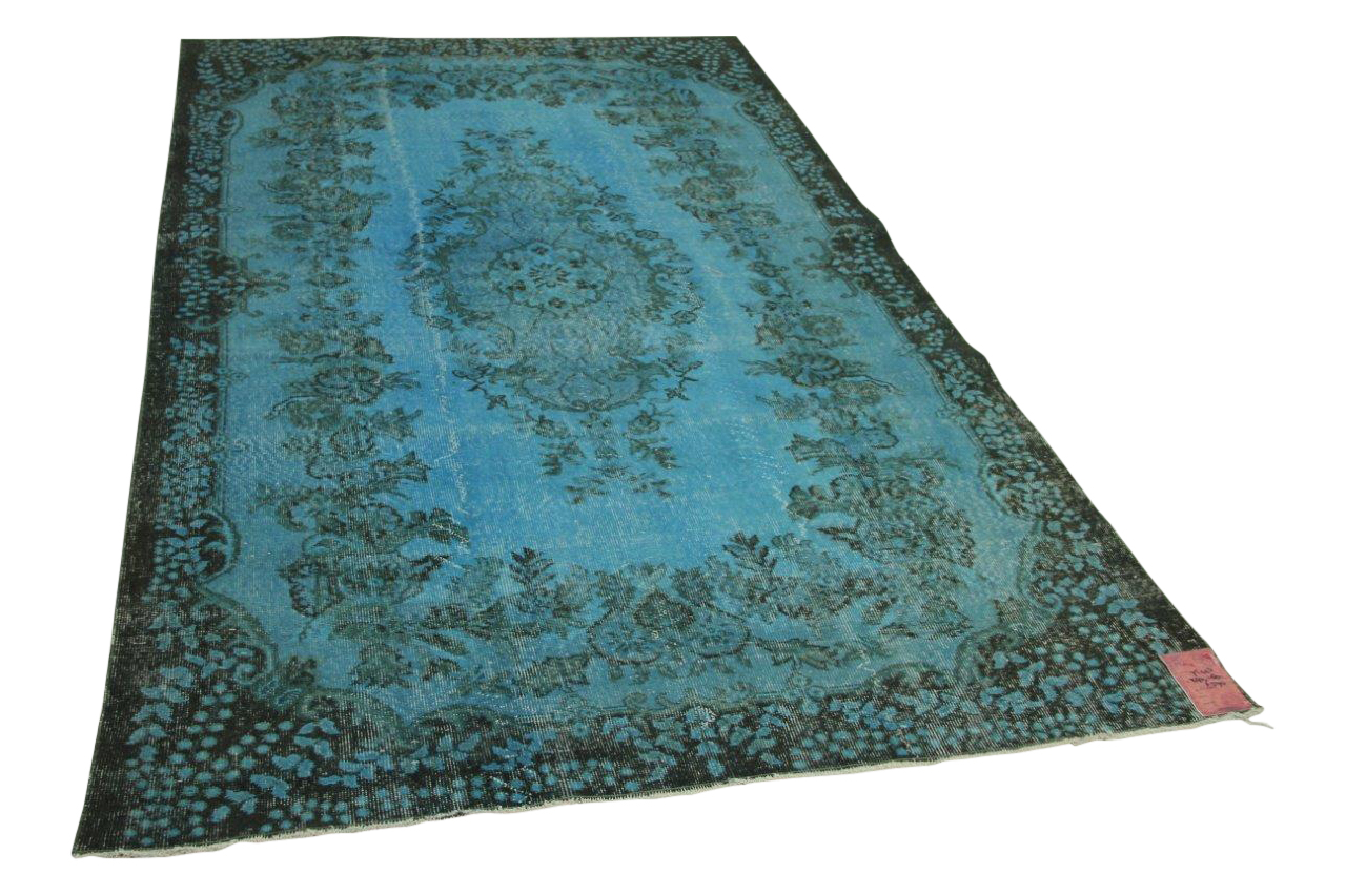 Blauw vloerkleed 290cm x 180cm nr75443