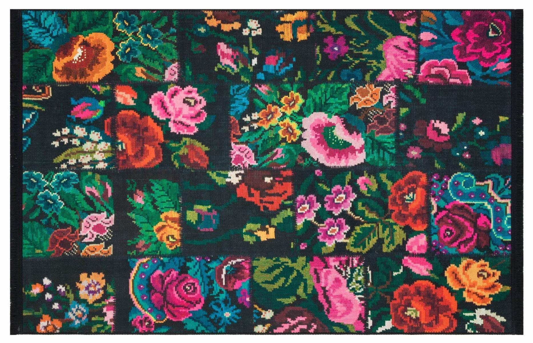 rozenkelim patchwork leverbaar in diverse maten