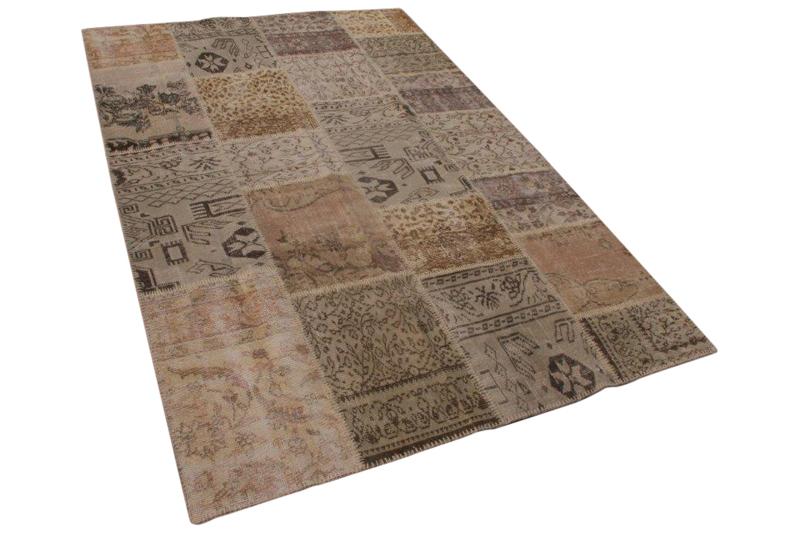 patchwork vloerkleed 240cm x 170cm 7089
