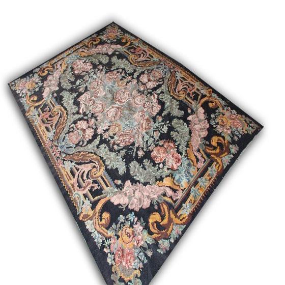 Kelim met oud roze kleur  891 (340cm x 234cm)