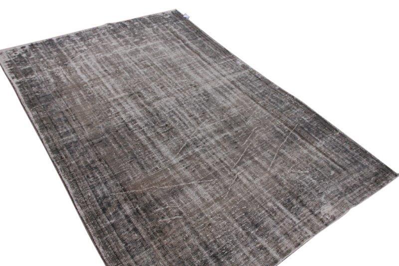Vintage vloerkleed, grijs, 300cm x 196cm