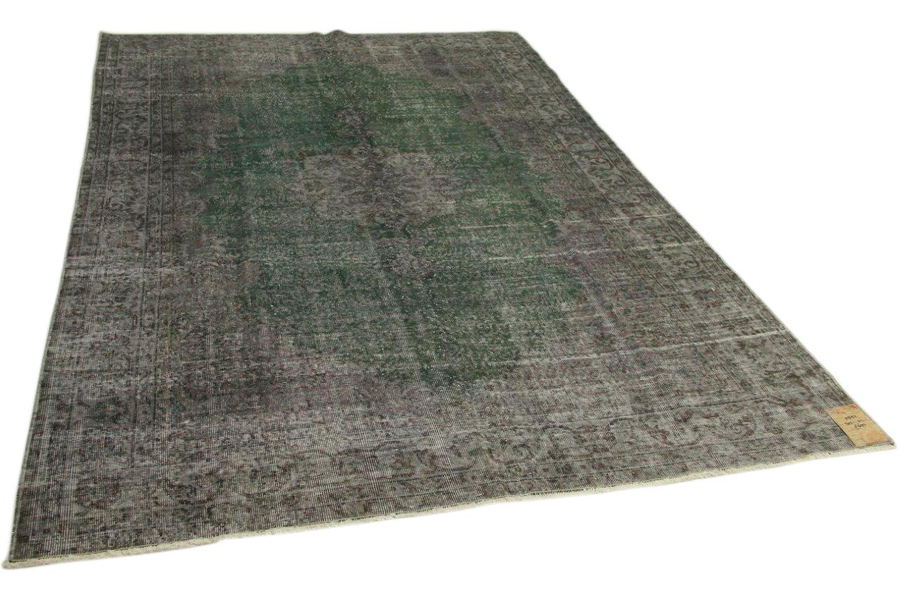 Vintage vloerkleed grijs 303cm x 211cm nr5852