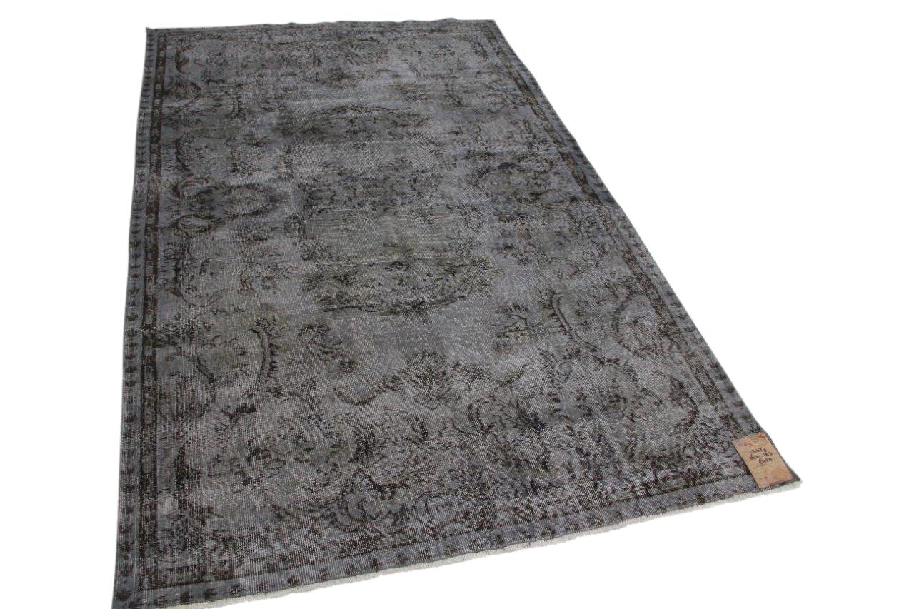 vintage vloerkleed grijs