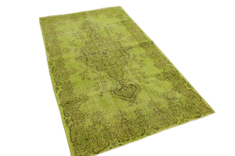 Gras groen vloerkleed 279cm x 156cm nr4855