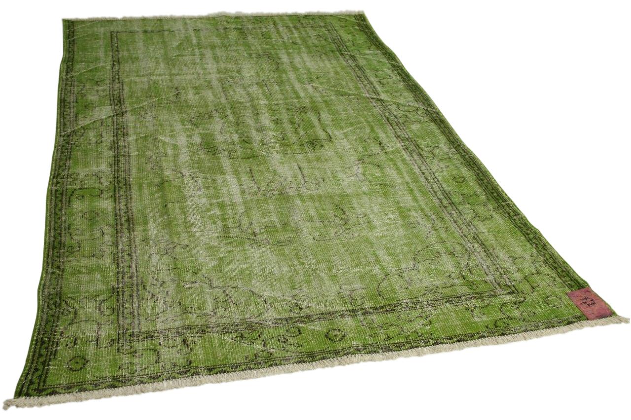 groen vloerkleed 272cm x 195cm nr12965