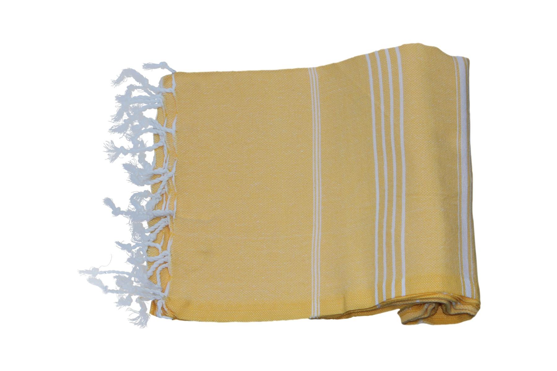Hamamdoek geel