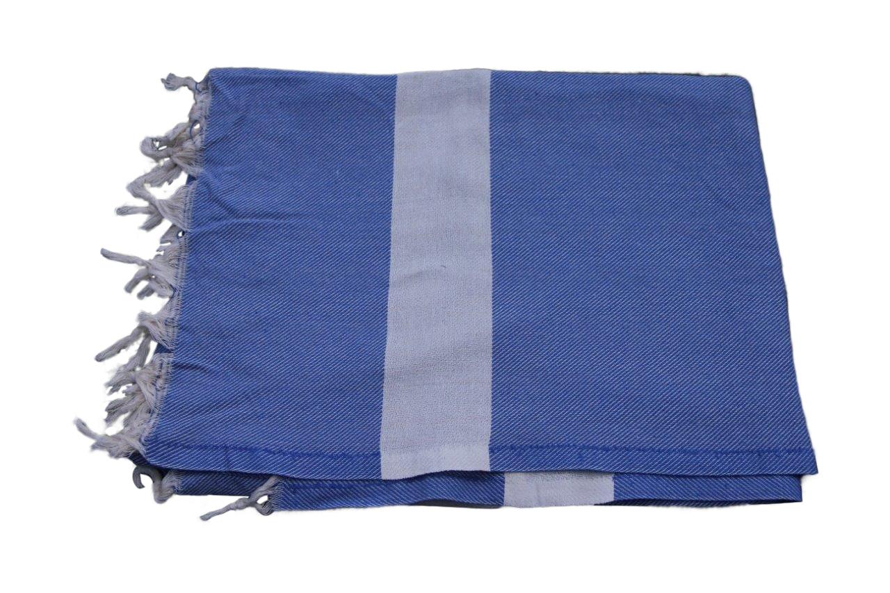 Hamamdoek groot blauw