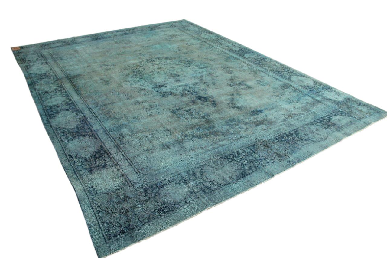 Ijsblauw vloerkleed 383cm x 290cm nr56373