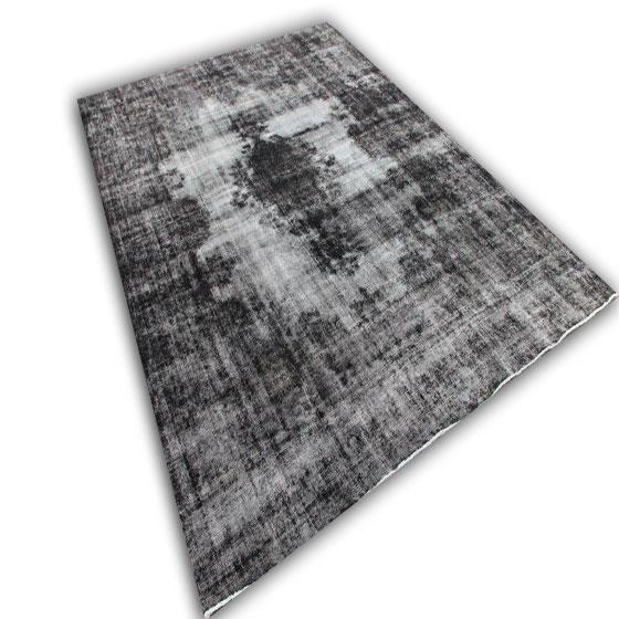 Groot grijs recoloured vloerkleed 205 (403cm x 299cm)