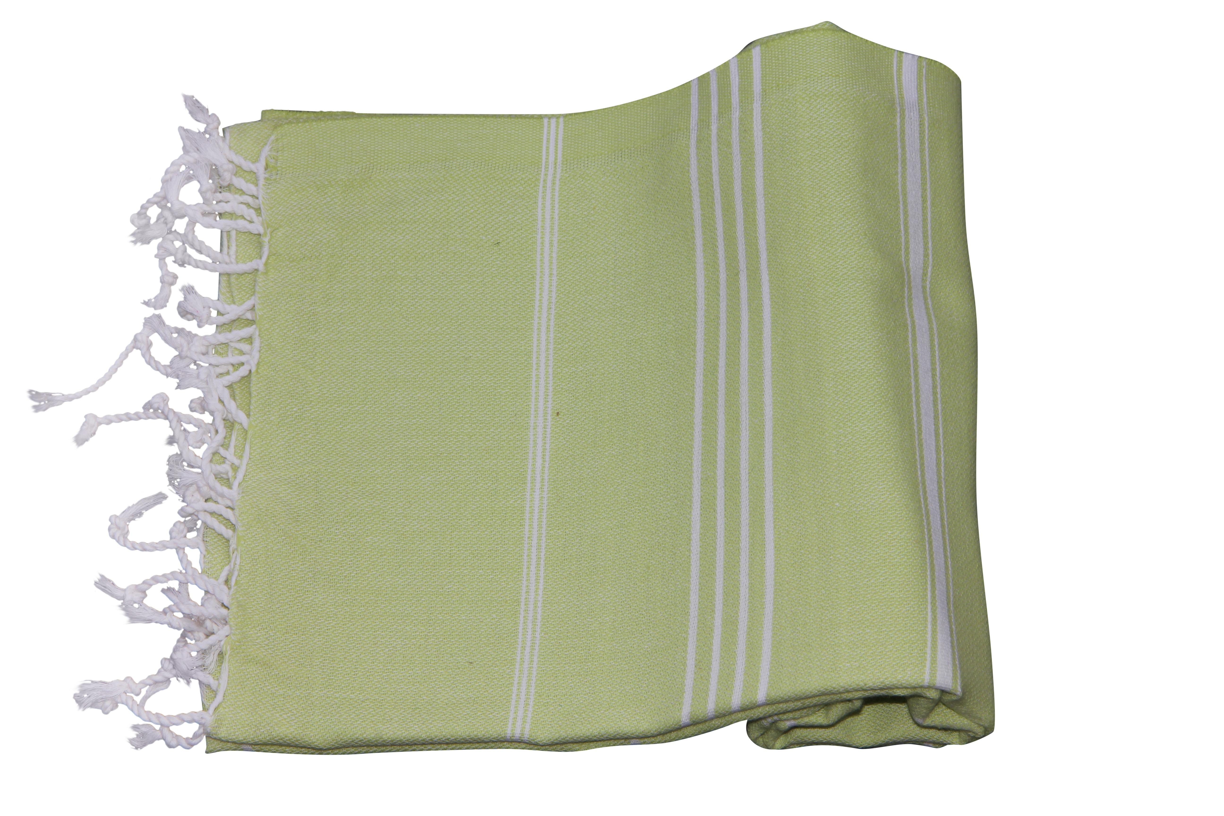Hamamdoek, mint groen, 100% katoen 180cm x 100cm