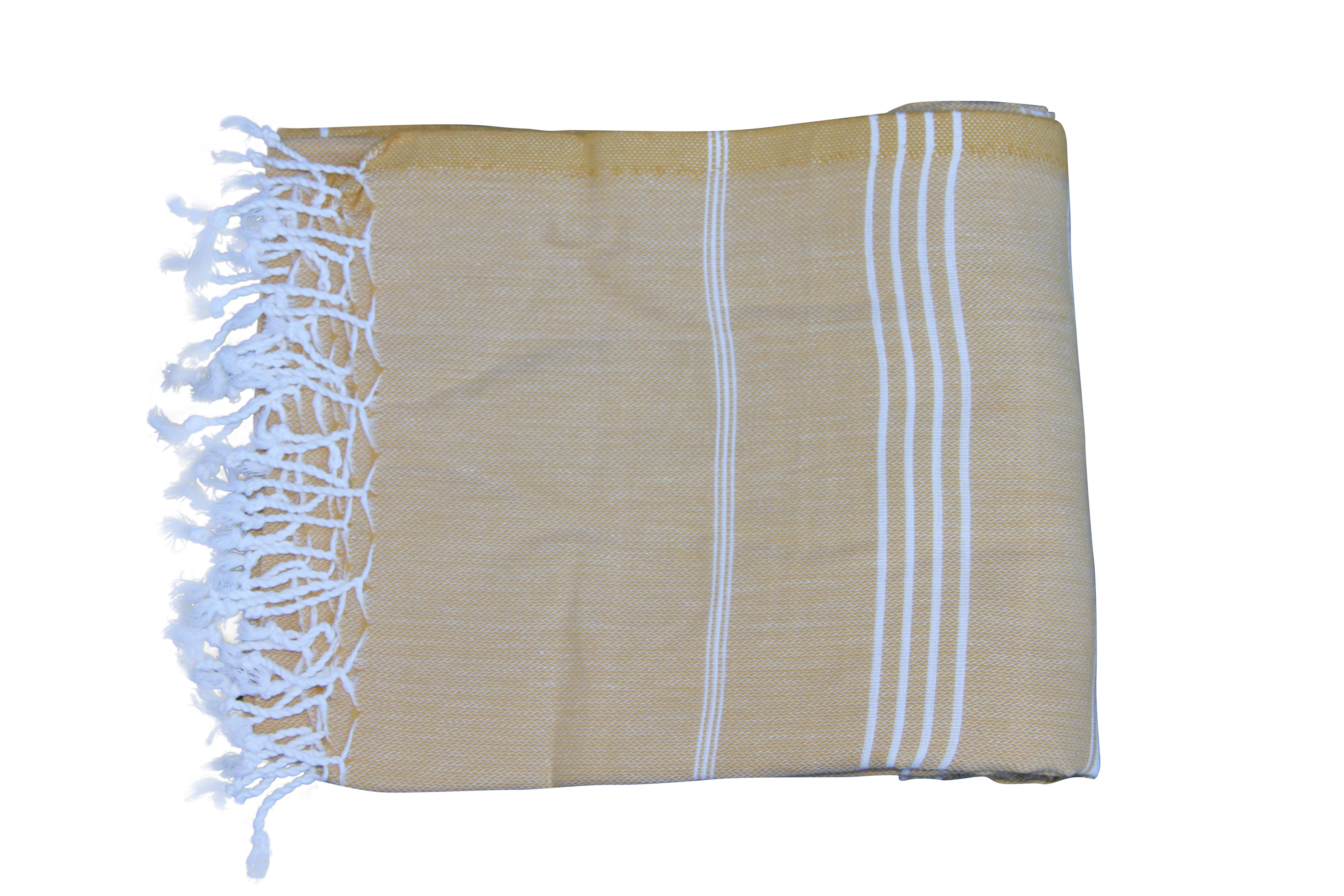 Hamamdoek, Camel  100% katoen 100cm x 180cm 100% geweven katoenen handdoek.