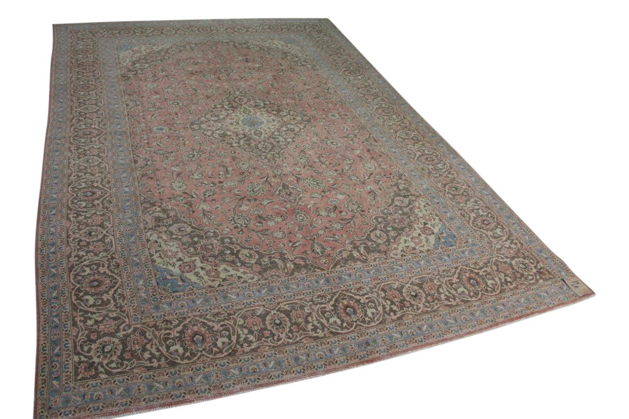 Oud vloerkleed uit Perzie
