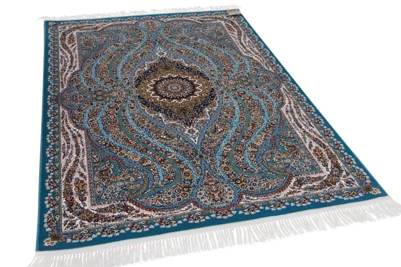 Klassiek perzisch tapijt op moderne wijze gemaakt 225cm x 150cm nr 21632