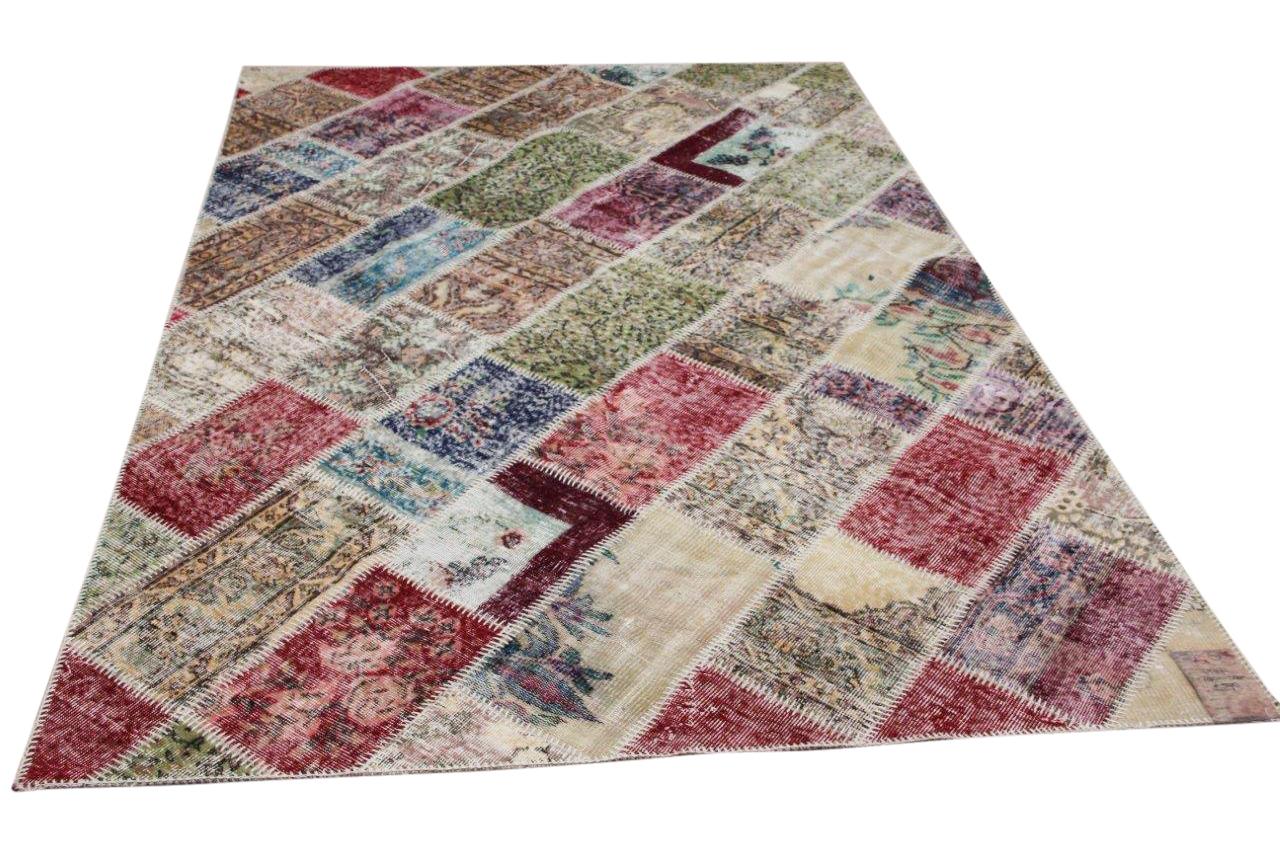 Patchwork vloerkleed diverse kleuren nr.17871 290cm x 200cm