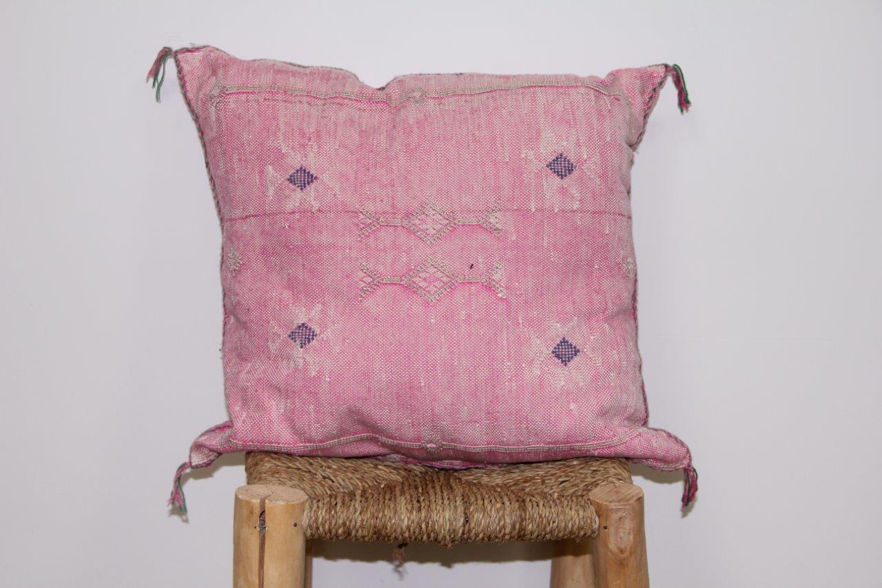 Kussen roze 45cm x 45cm nr 3302