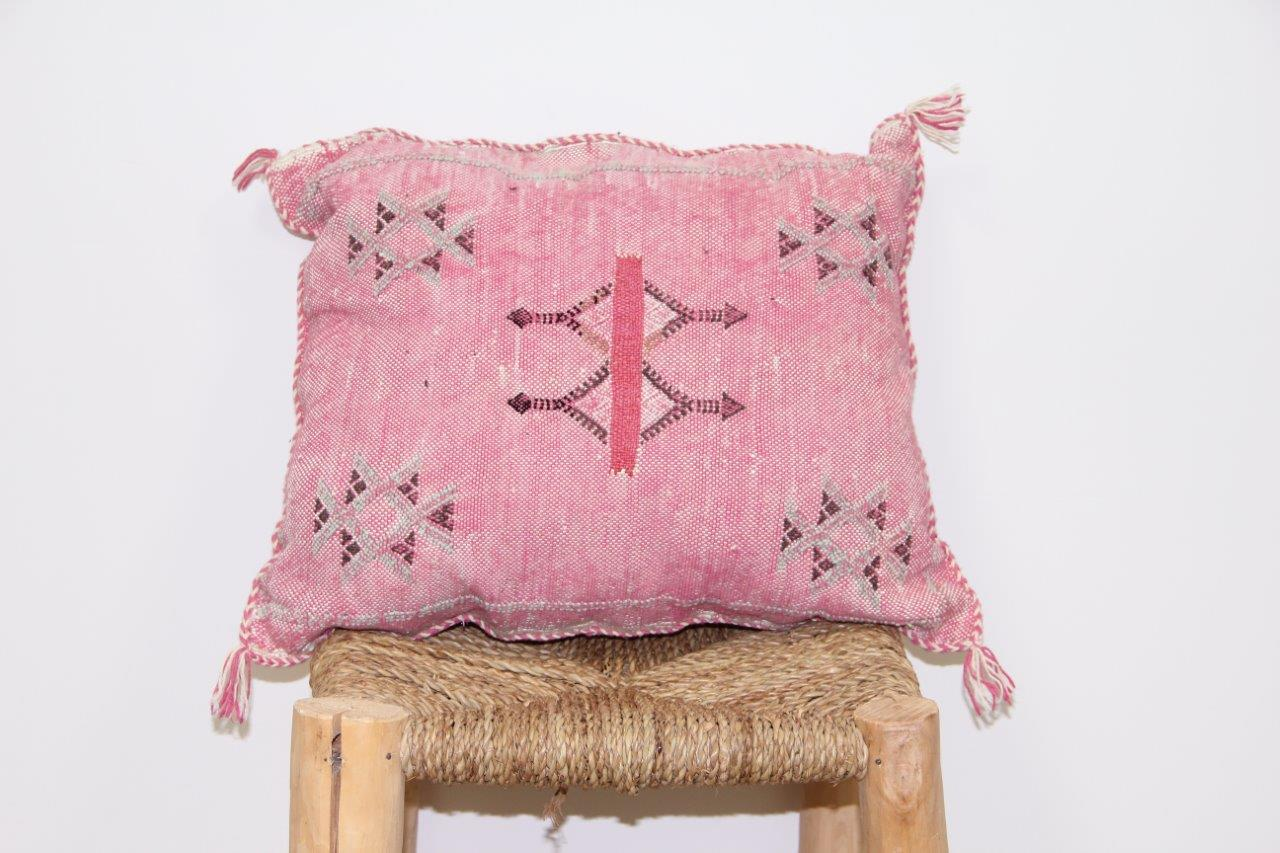 Kussen roze 45cm x 45cm nr 3305