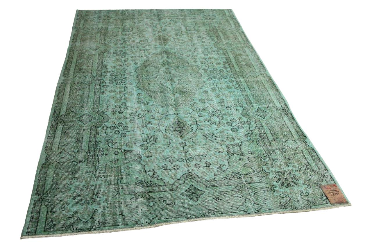 Jade groen vloerkleed 272cm x 163cm nr4597