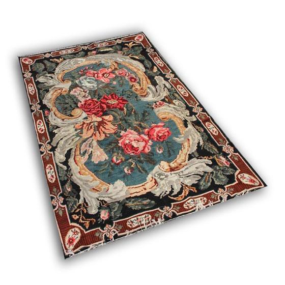 Handmade floral kilim 6008 (340cm x 205cm)
