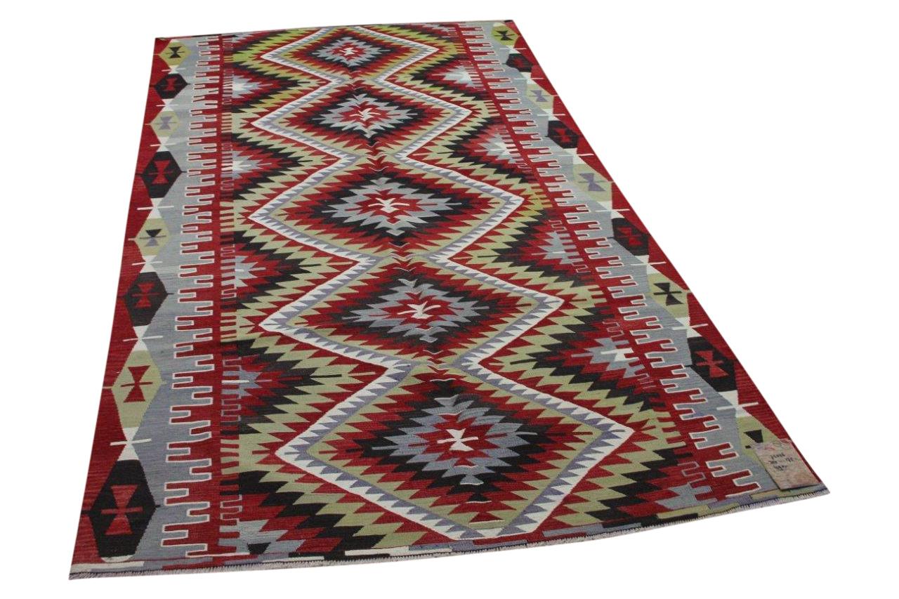 Kelim uit Anatolië 75026 300cm x 175cm