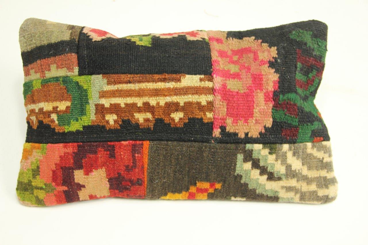 Afbeelding van Rozenkelim kussen 50cm x 30cm incl binnenkussen (nr 12171)
