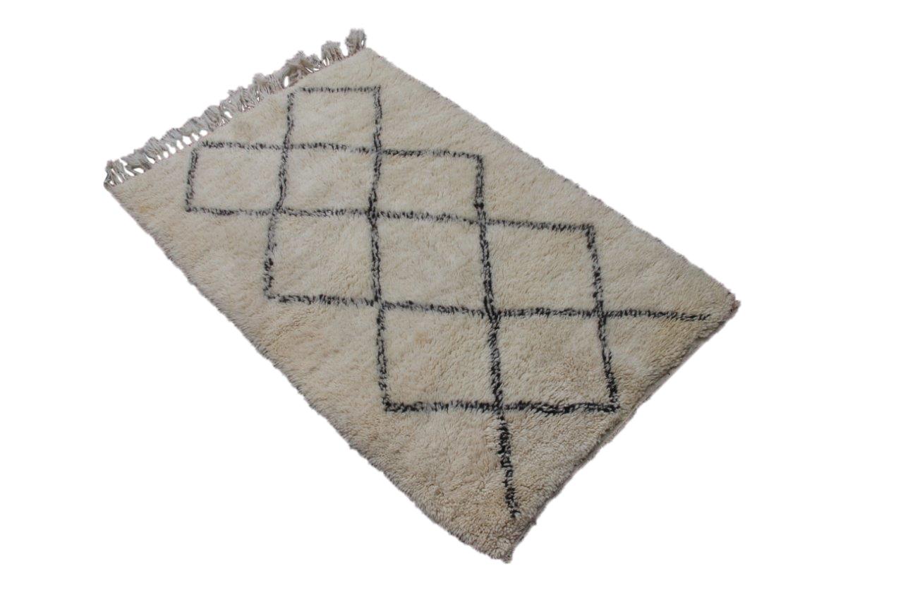 Klein Beni Ouarain vloerkleed uit Marokko 163cm x 113cm (nr 9714)