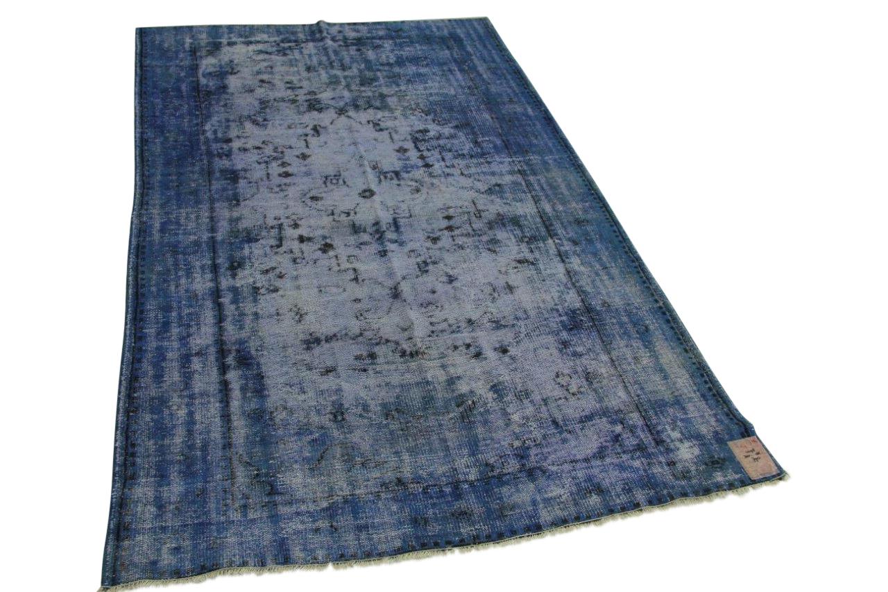 Kobaltblauw vloerkleed 300cm x 185cm nr4098