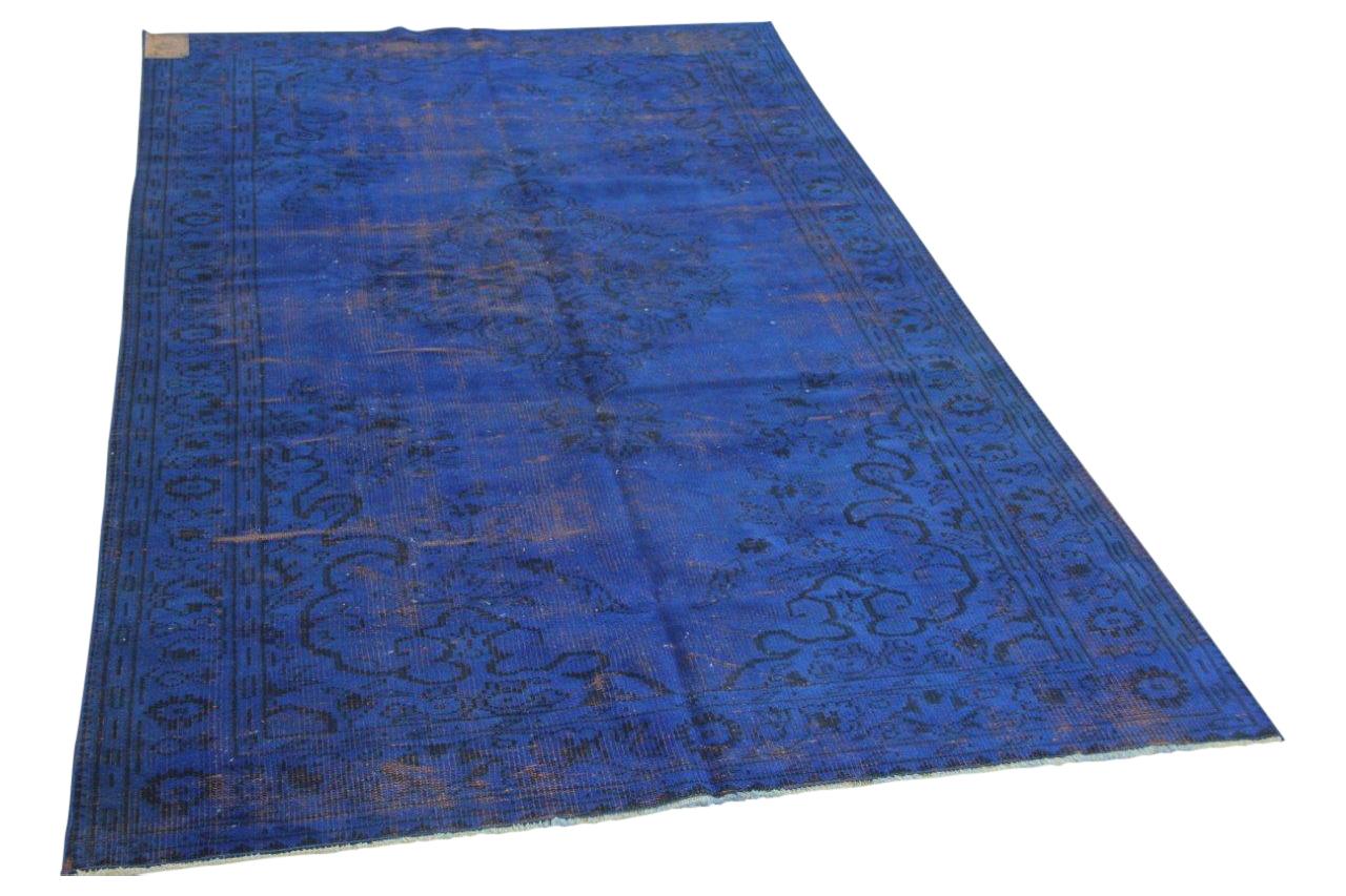 Kobalt blauw vloerkleed 250cm x 160cm nr3417