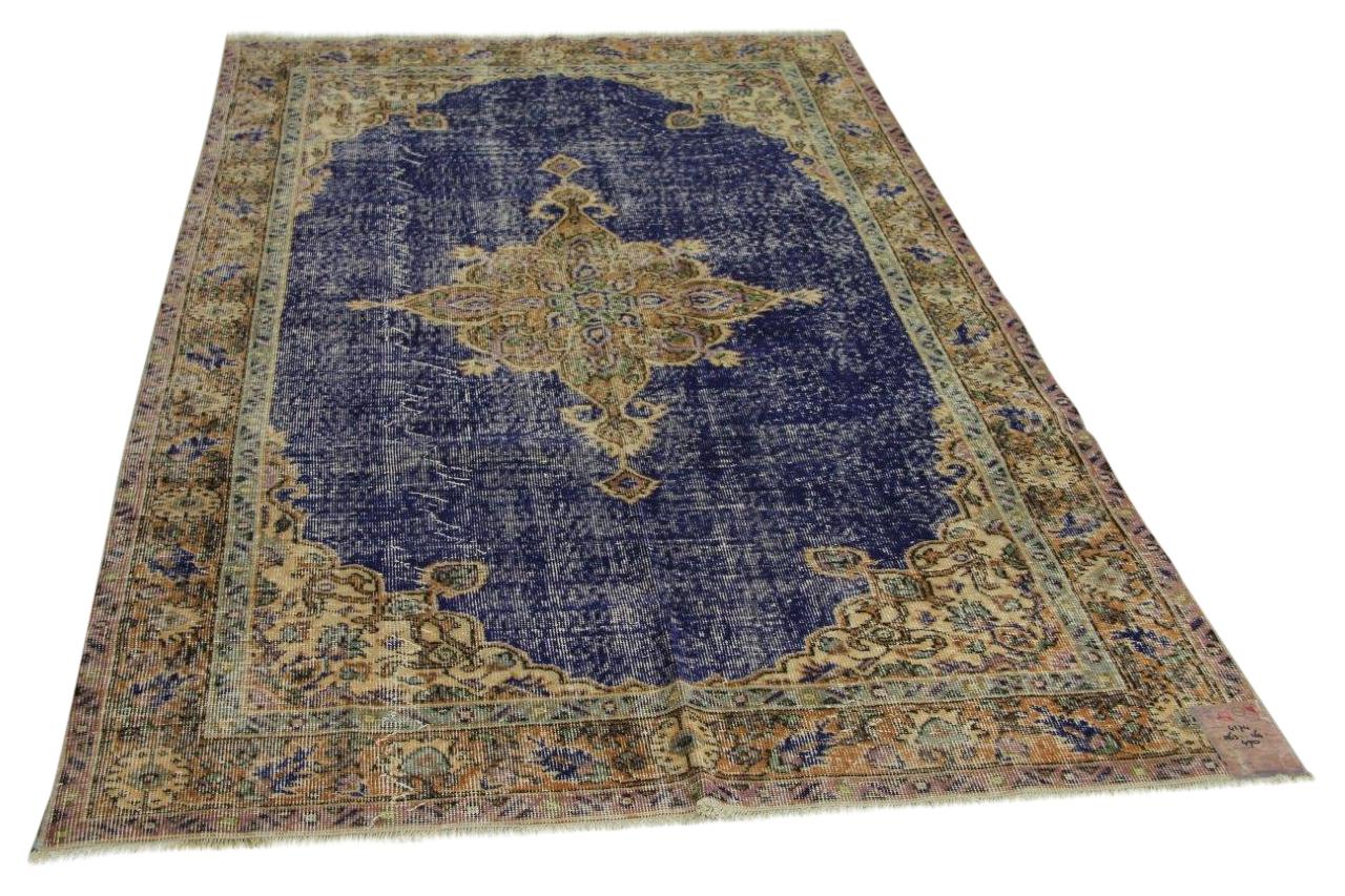 Koningsblauw vloerkleed 263cm x 164cm nr4174
