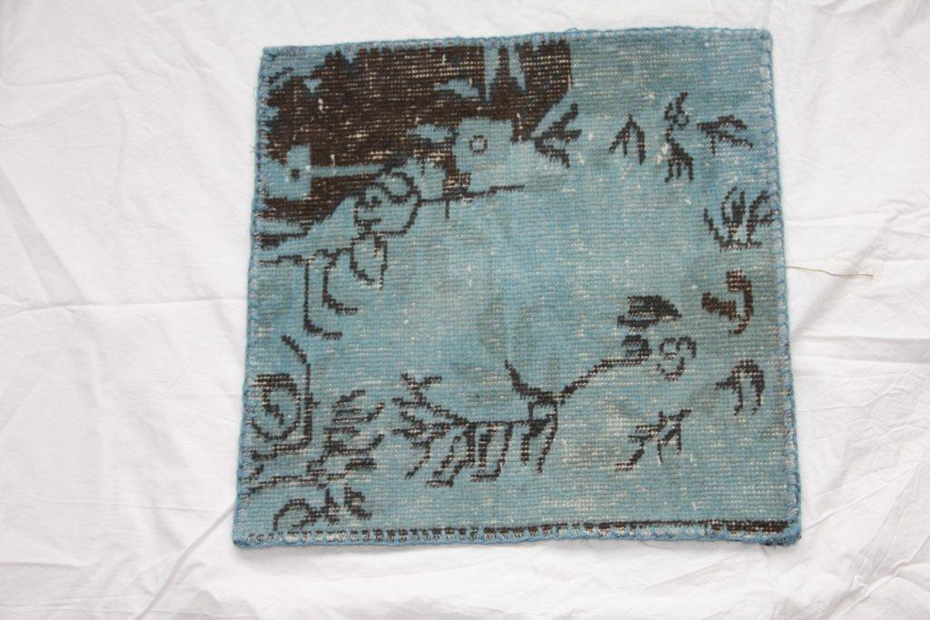 Recoloured vintage kussen 606 (50cm x 50cm