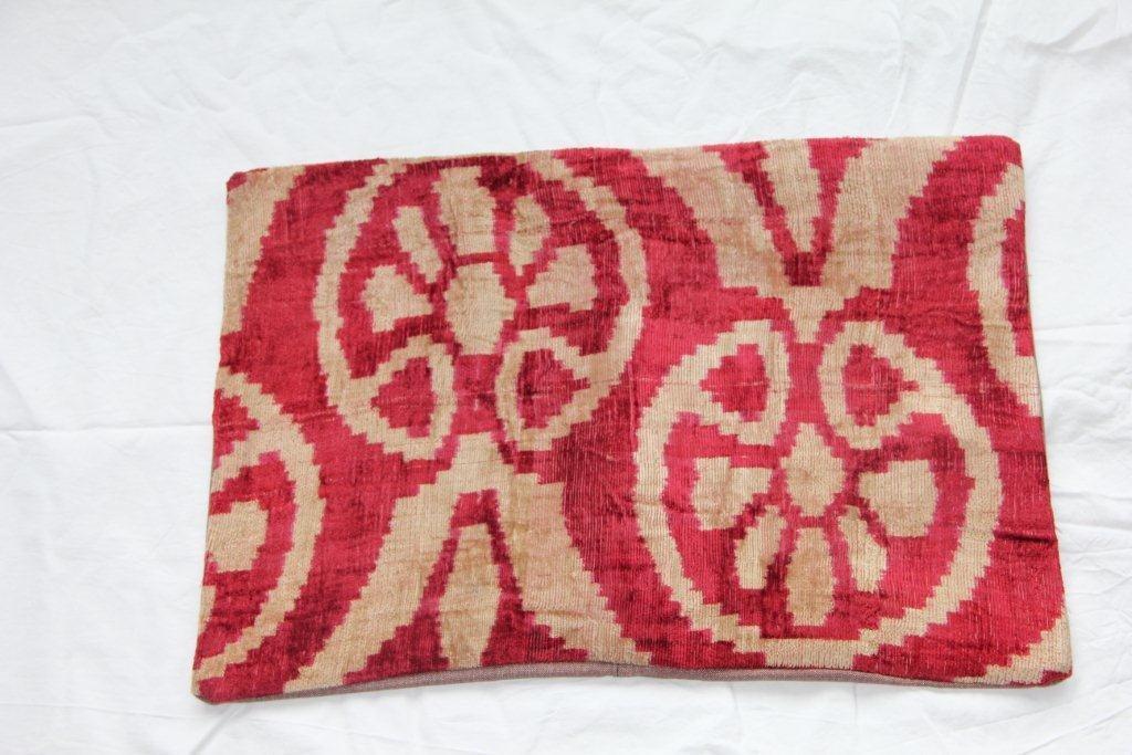 Kussen gemaakt van Turkse oude stof 629 (60cm x 40cm)