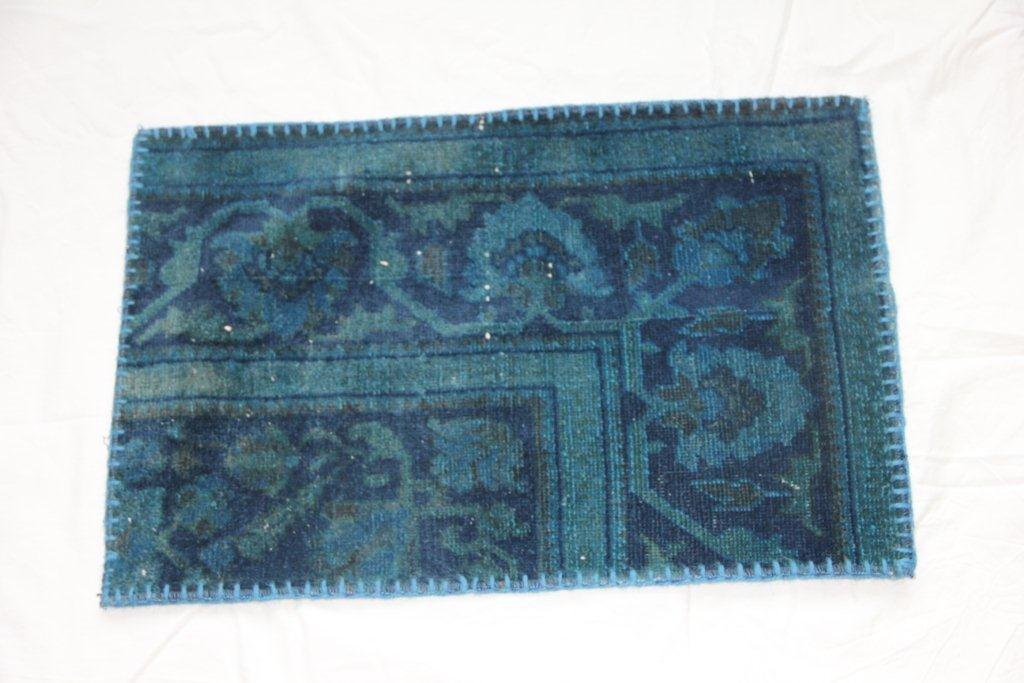 Recoloured vintage kussen 641 (60cm x 40cm)