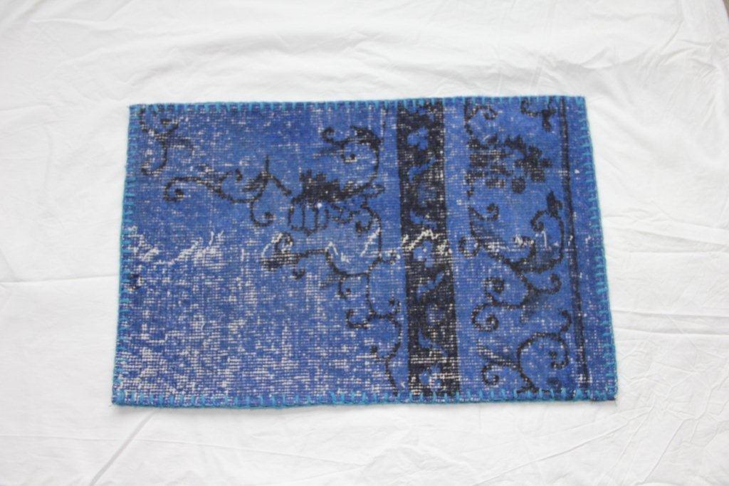 Recoloured vintage kussen 643 (60cm x 40cm)