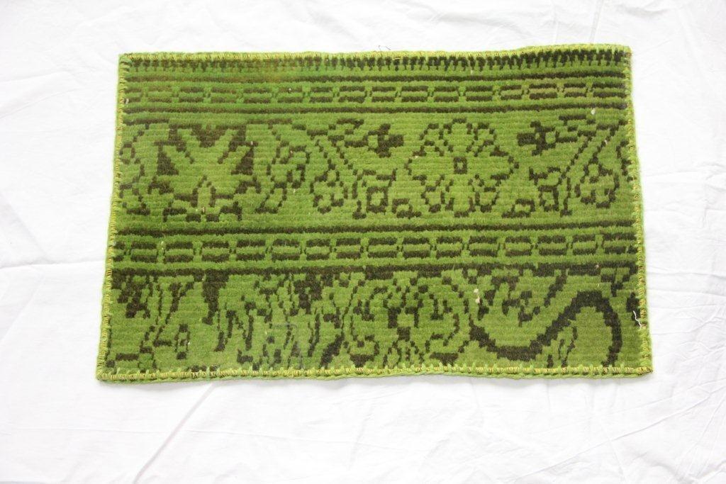 Recoloured vintage kussens 652 (60cm x 40cm)