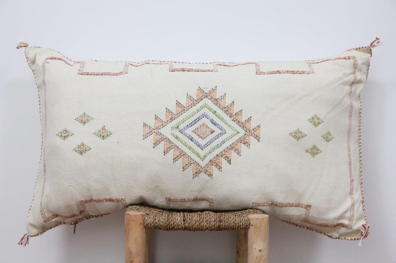 Kussen uit Marokko 100cm x 50cm incl vulling nr.9016
