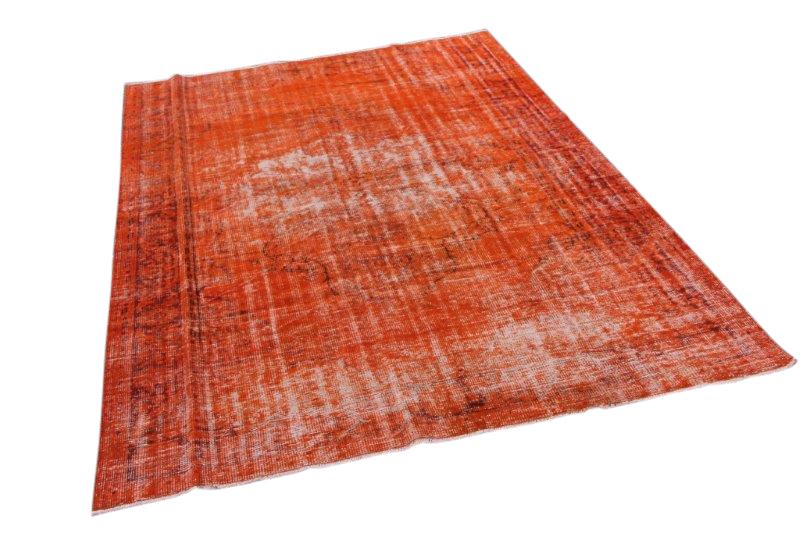 Oranje vintage tapijt 297cm x 210cm  (nr1170)
